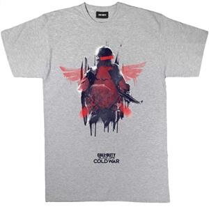 Camiseta de Call of Duty Black Ops Cold War con un soldado