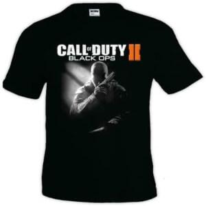 Camiseta logotipo Call of Duty Black Ops 2 manga corta