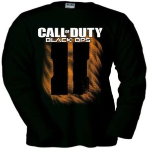 Camiseta logotipo Call of Duty Black Ops 2 manga larga