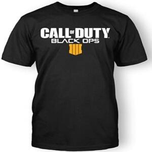 Camiseta logotipo Call of Duty Black Ops 4 manga corta