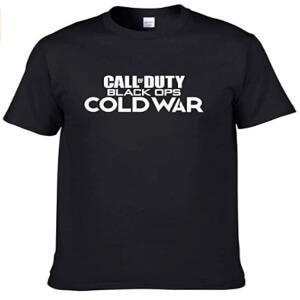 Camiseta logotipo Call of Duty Black Ops Cold War manga corta