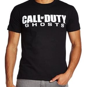 Camiseta logotipo Call of Duty Ghosts manga corta