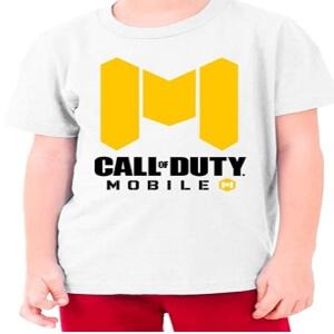 Camiseta logotipo Call of Duty Mobile para niños