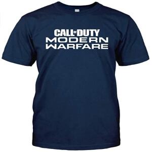 Camiseta logotipo Call of Duty Modern Warfare manga corta