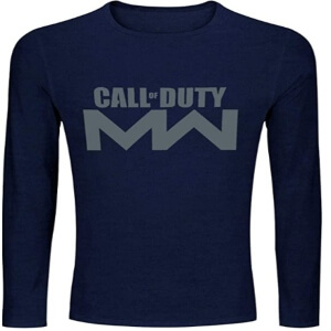 Camiseta logotipo Call of Duty Modern Warfare manga larga