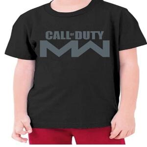 Camiseta logotipo Call of Duty Modern Warfare para niños