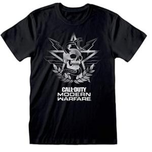 Camiseta logotipo calavera Call of Duty manga corta