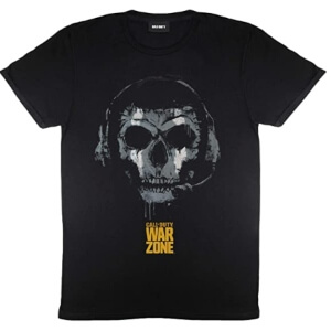 Camiseta negra de Call of Duty Warzone