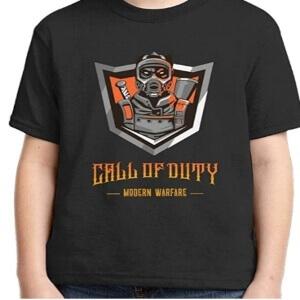 Camisetas Call of Duty para niños