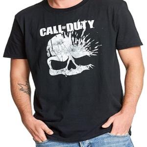 Camisetas de Call of Duty de manga corta con logotipo
