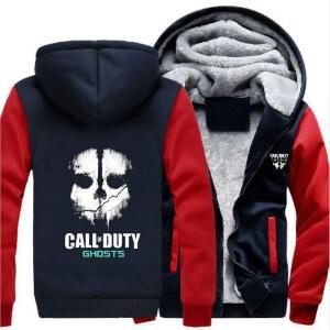 Chaqueta de Call of Duty con dos bolsillos y terciopelo