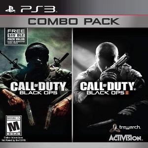 Combos de videojuegos de Call of Duty Black Ops