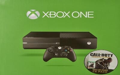 Consola Xbox One con juegos de Call of Duty