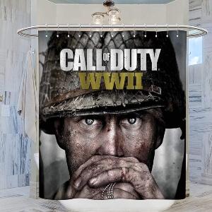 Cortina de ducha battery de Call of Duty World War 2