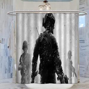 Cortina de ducha soldado de Call of Duty