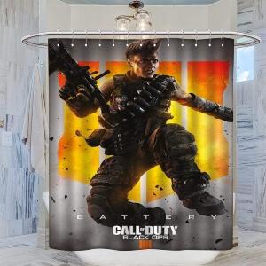 Cortinas de ducha de Call of Duty