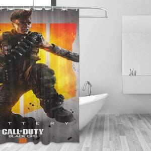 Cortinas de ducha del juego Call of Duty