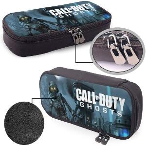 Cremallera y textora estuches de Call of Duty