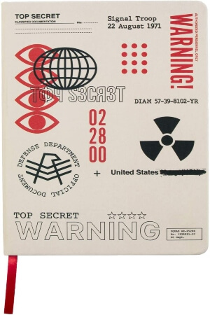Cuaderno Call of Duty Black Ops Cold War top secret documents