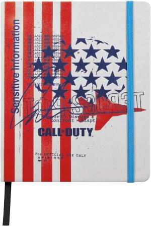 Cuaderno Call of Duty Cold War american soldier