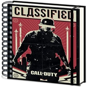Cuaderno Classified Call of Duty Black Ops Cold War