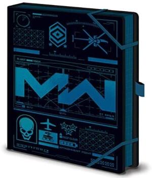 Cuaderno de Call of Duty Modern Warfare