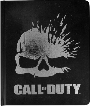 Cuaderno esqueleto de Call of Duty
