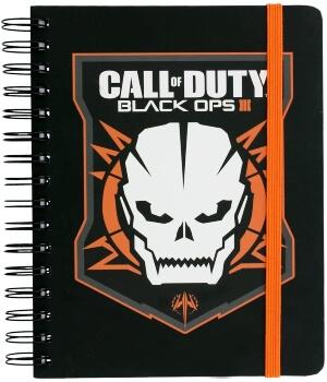 Cuaderno personaje de Call of Duty Black Ops 3