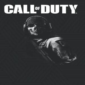 Cuaderno soldado con cara fantasma Call of Duty