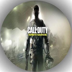 Decoraciones para pasteles de Call of Duty Infinite Warfare