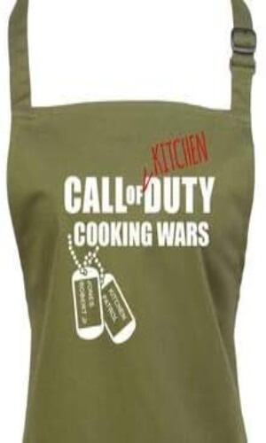 Delantal Call of Duty Cooking Wars