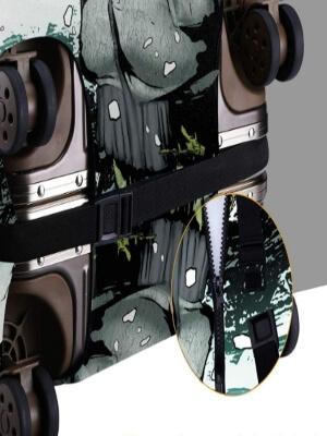 Detalle de las fundas para maletas de Call of Duty