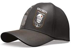 Detalle gorras Call of Duty