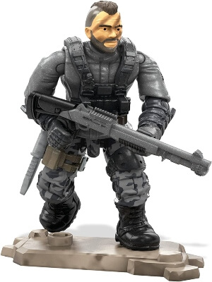 Detalles de un juguete de Call of Duty