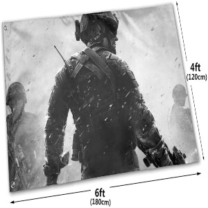 Dimensiones de las banderas de Call of Duty