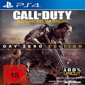 Edicion Day Zero Call of Duty Advanced Warfare para Playstation 4