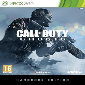 Edicion Hardened Call of Duty Ghosts para Xbox 360
