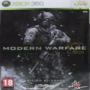 Edicion blindada Call of Duty Modern Warfare 2 para Xbox 360