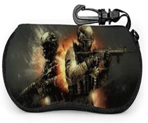 Estuche para gafas dos soldados Call of Duty