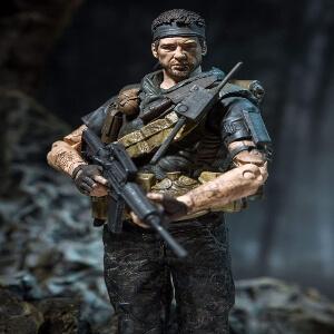 Figura Frank Woods primer plano Call of Duty