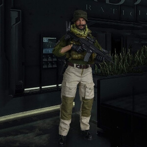 Figura John Price Call of Duty