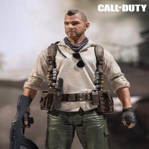 Figura John Soap MacTavish primer plano Call of Duty