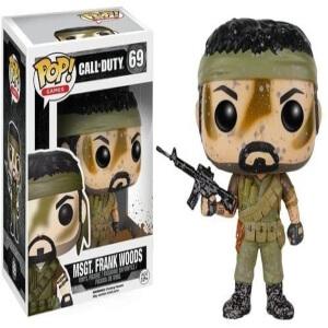 Funko pop Frank Woods de Call of Duty