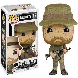 Funko pop capitan John Price de Call of Duty