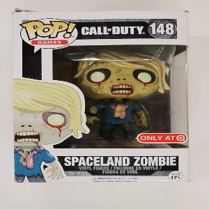 Funko pop spaceland zombie de Call of Duty