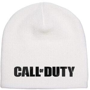 Gorro blanco de Call of Duty