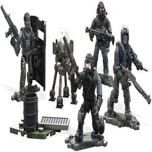 Juguete cuatro personajes con objetos Call of Duty