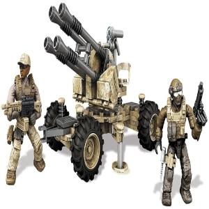 Juguete dos personajes con cohetes Call of Duty