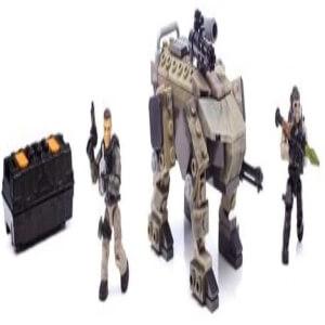 Juguete personaje con animal robotico Call of Duty