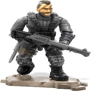 Juguete personaje con arma Call of Duty
